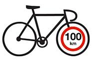 как проехать 100 км на велосипеде