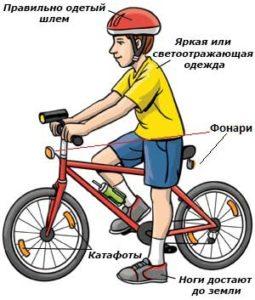 Безопасность на двухколесном транспорте