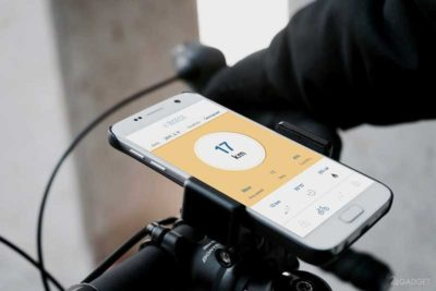 Смартфон для велосипедиста