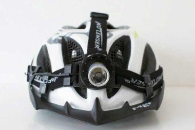 велофара на шлеме