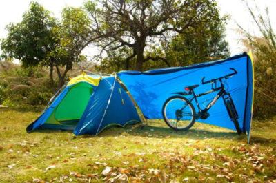 палатка для велотуризма