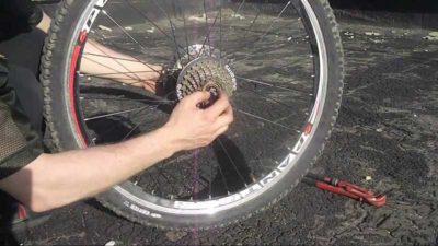 обслуживание кассеты велосипеда