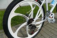 велоколеса на литых дисках