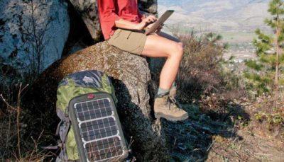 солнечная батарея на велосипед