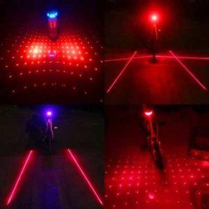задний фонарь на велосипед