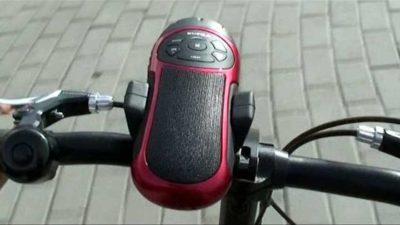 портативная колонка для велосипеда