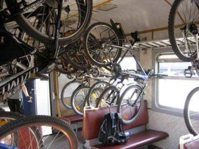 как перевозить велосипед в поезде