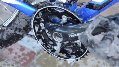 как помыть велосипед