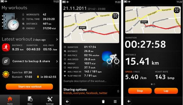 приложения для велосипедистов