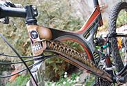 Аэрография на велосипеде
