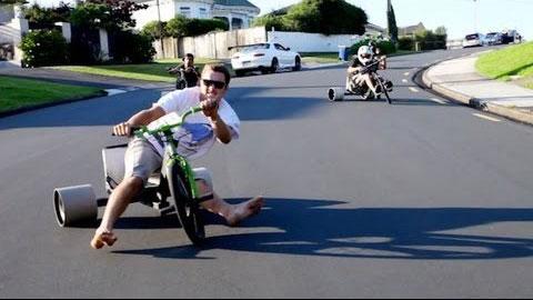 Как дрифтовать на велосипеде