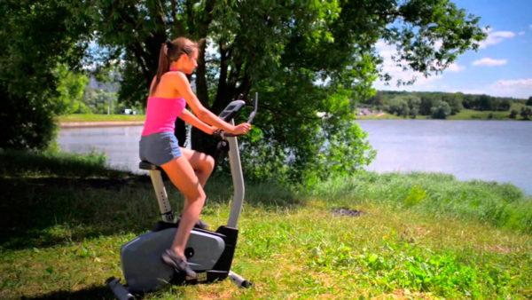 Тренировки на велотренажере
