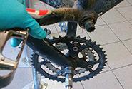Как снять прикипевшую деталь на велосипеде