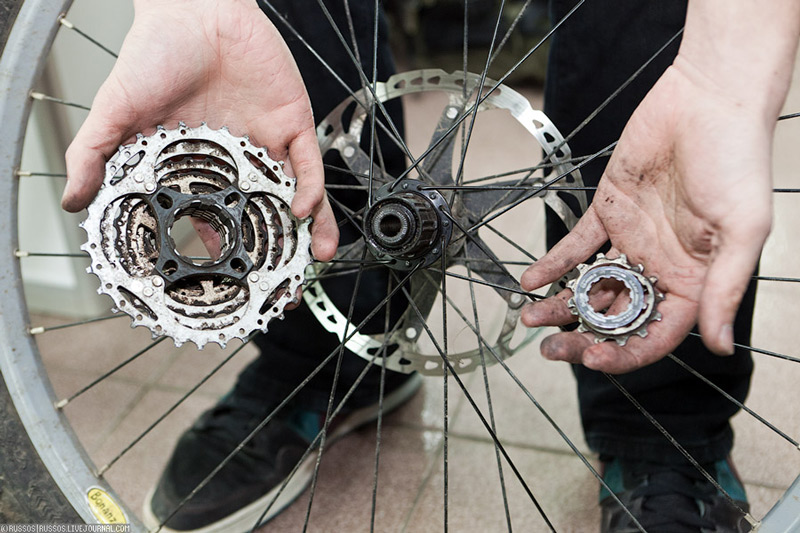 замена велосипеду