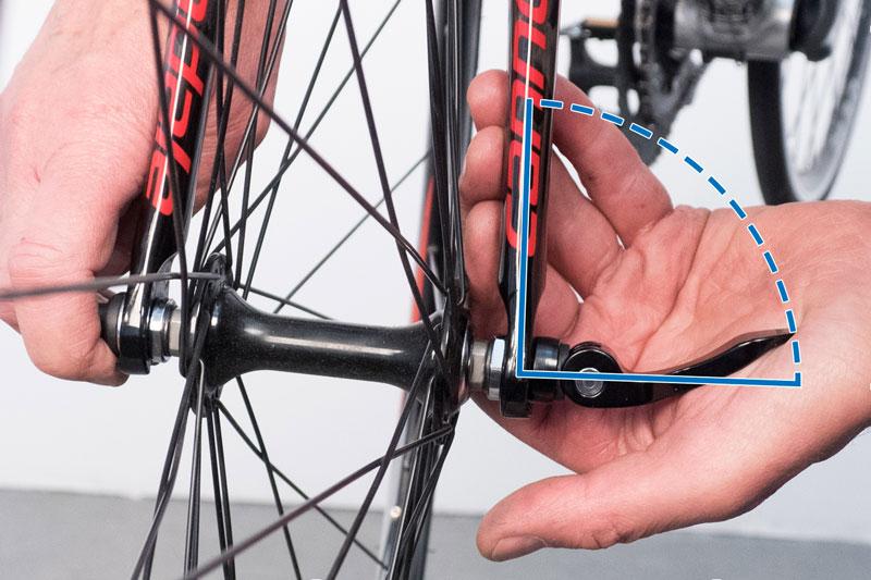 Эксцентриковый зажим для велосипеда