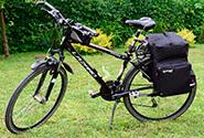 Сумка на багажник велосипеда