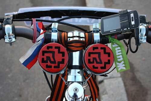Как сделать колонки своими руками на велосипед 94